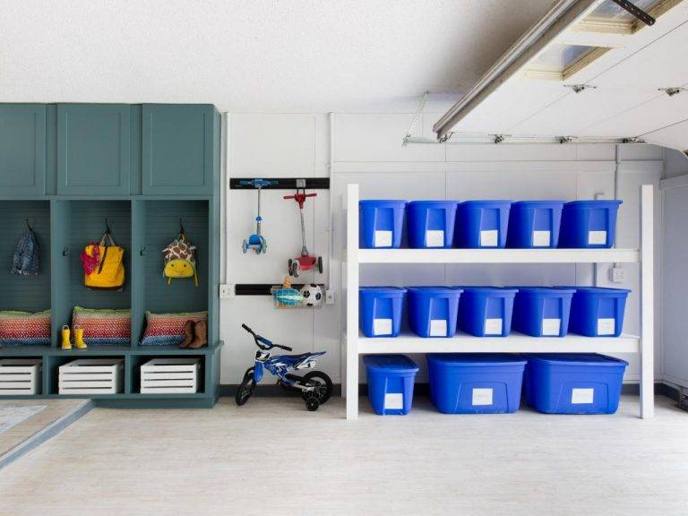 Use these organization tips to organize your garage