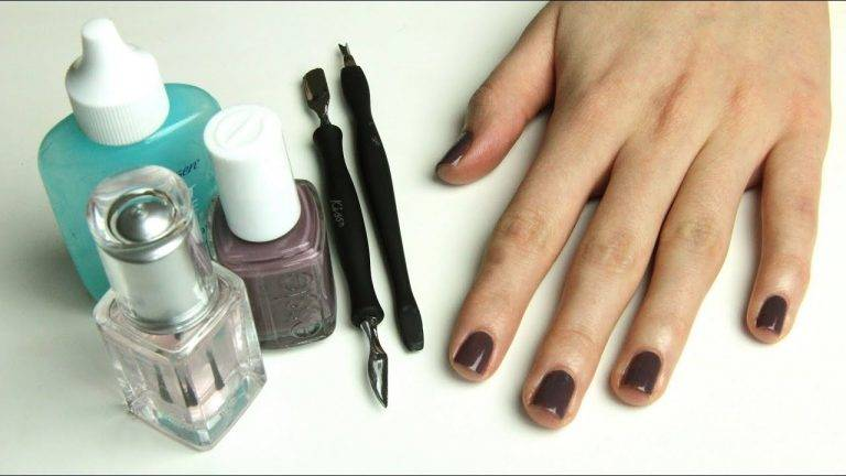 How to DIY a manicure
