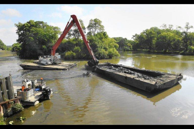 Dredge Workers Play an Important Role in the Clearing of Waterways