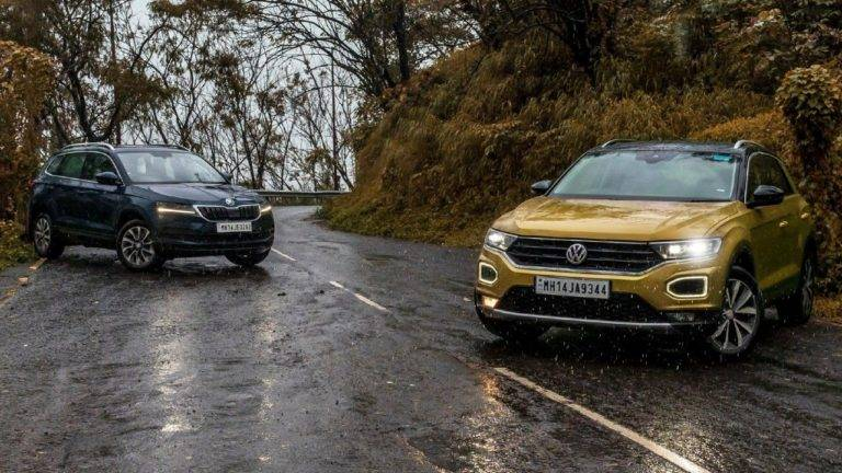 Skoda Karoq vs Volkswagen T-Roc Comparison