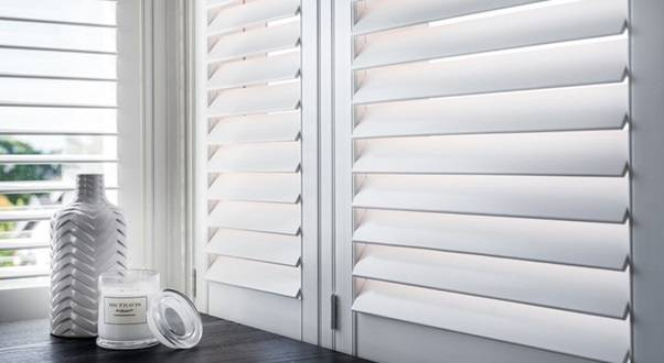 What are plantation shutters?