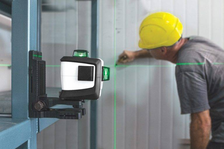 What is the purpose of using laser level?